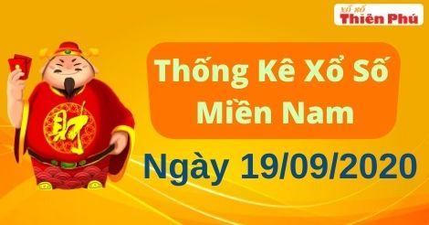 Thống Kê XSMN 19/09/2020 - Phân Tích Xổ Số Miền Nam Thứ Bảy