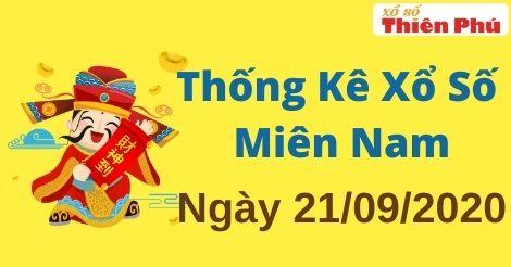 Thống Kê XSMN 21/09/2020 - Phân Tích Xổ Số Miền Nam Thứ Hai