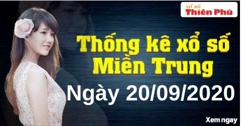 Thống Kê XSMT 20/09/2020 - Phân Tích Xổ Số Miền Trung Chủ Nhật