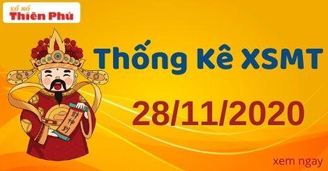 Thống kê XSMT thứ 7 ngày 28/11/2020 - Phân tích KQ miền Trung hôm nay