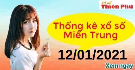Thống kê XSMT thứ 3 ngày 12/01/2021 - Phân tích KQ miền Trung hôm nay