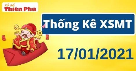 Thống kê XSMT chủ nhật ngày 17/01/2021 - Phân tích KQ miền Trung hôm nay