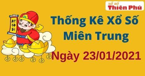 Thống kê XSMT thứ 7 ngày 23/1/2021 - Phân tích KQ miền Trung hôm nay