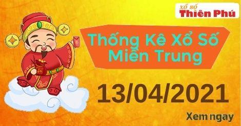 Thống kê XSMT thứ 3 ngày 13/04/2021 - Phân tích KQ miền Trung hôm nay