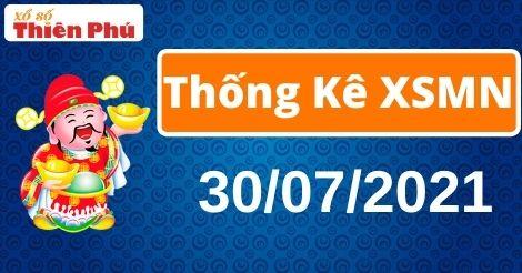 Thống kê XSMN thứ 6 ngày 30/07/2021 - Phân tích KQ miền Nam chuẩn nhất